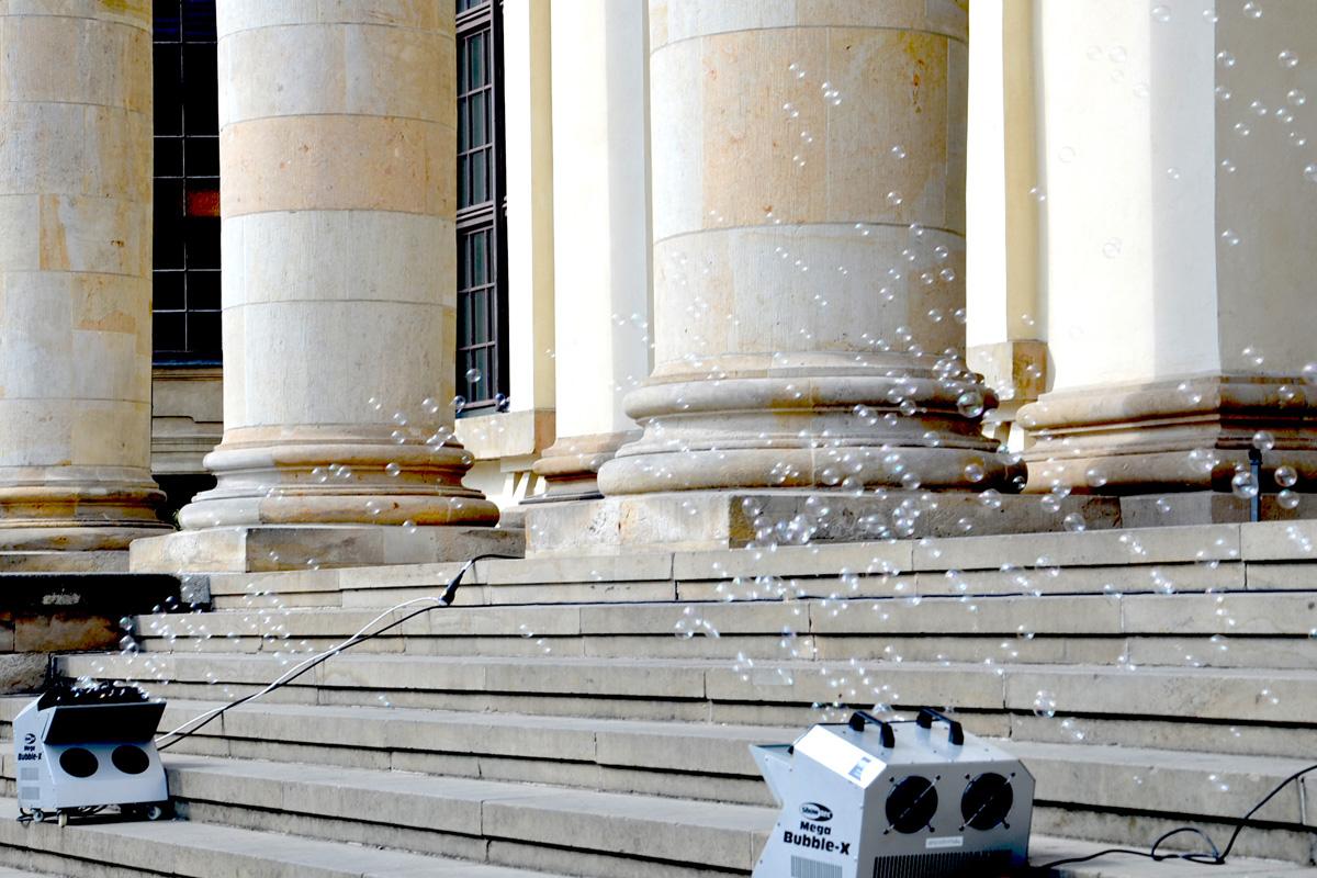 große Seifenblasenmaschine für ein MEHR + MEER an Seifenblasen