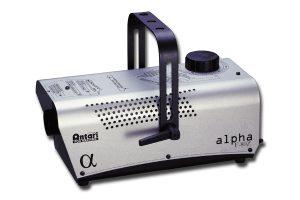 Antari Alpha F-80 Z Nebelmaschine Geräteansicht Seitenansicht