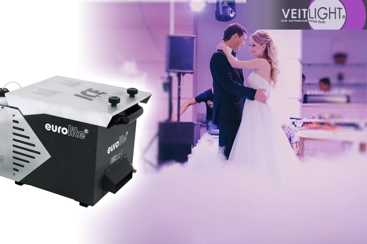 Bodennebel, fantastisch für Hochzeiten, Film, Shootings, Shows und Bühne