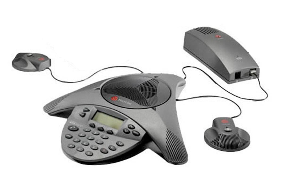eine Gerätekomposition mit enormer Reichweite - Telefonkonferenzen ohne Kompromisse