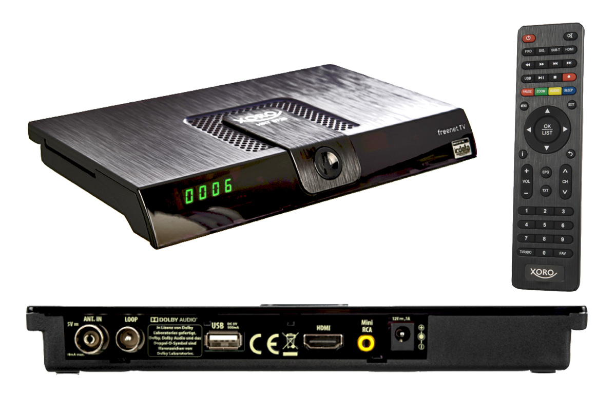 hd mediaplayer dvb t2 hd receiver tuner mieten beim. Black Bedroom Furniture Sets. Home Design Ideas