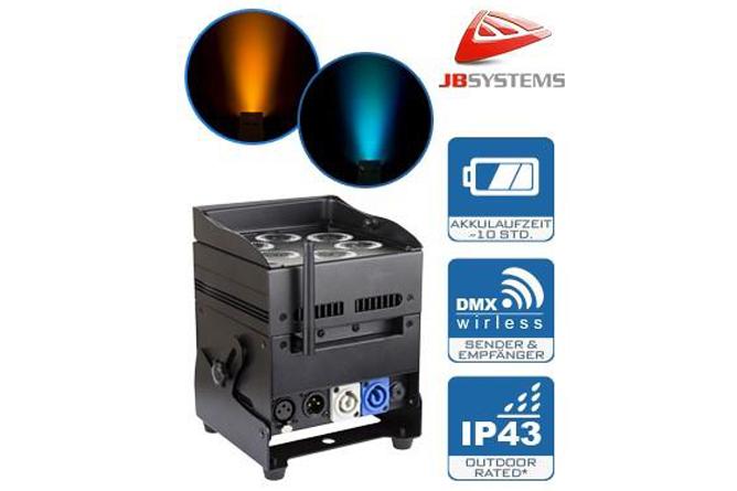 Unabhängigkeit - Flexibilität - JB Systems ACCU COLOR 6x10 W RGBWA