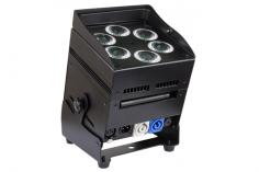 AKKU LED Strahler 6x10 W 5in1 RGBWA