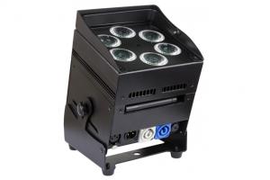 Scheinwerfer ACCU LED Color 6x10 W RGBWA Ansicht