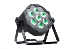 LED Flat Par 7×10 W 5in1 RGBWA