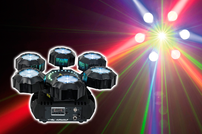 3in1 Effekt - ein professionelles, super kompaktes und einfach zu installierendes Gerät